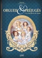 orgueil et préjugés, Pride and préjudice, les cinq filles de mrs Bennet, bande-dessinée, Jane Austen, Jane Austen France, austenerie, aurore, soleil