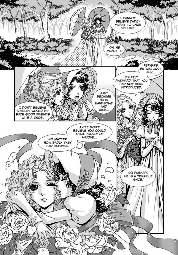 pride and prejudice,manga,adaptation,bande-dessinée,orgueil et préjugés,darcy,stacy king,pot-se,éditions soleil