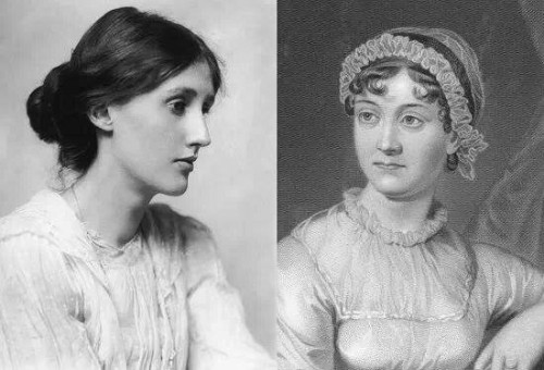 jane austen,jane's admirers,virginia woolf,admirateurs,auteurs qui aiment jane austen