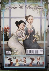sense and sensibility,raison et sentiments,jane austen,comics,comic book,marvel,nancy butler