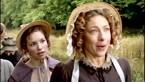 lost in austen,jane austen,pride and prejudice,orgueil et préjugés,amanda price,darcy,jemima rooper,alex kingston