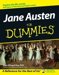 Jane Austen for dummies, pour les nuls, jasna, Jane Austen, Jane Austen france, joan klingel ray