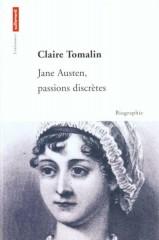jane austen,life,biographie,jane austen passions dicrètes,claire tomalin,biography