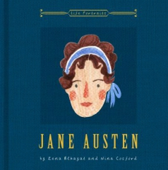jane austen,biographie,illustrations,nina cosford,zena alkayat