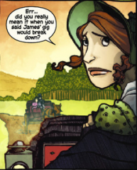northanger abbey,nancy butler,janet k. lee,marvel,comic book,jane austen
