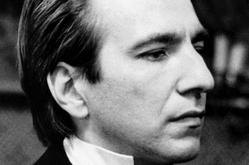alan rickman, colonel brandon, raison et sentiments, rogue, harry potter